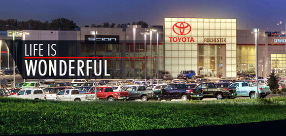 Rochester Ford Toyota Used Cars
