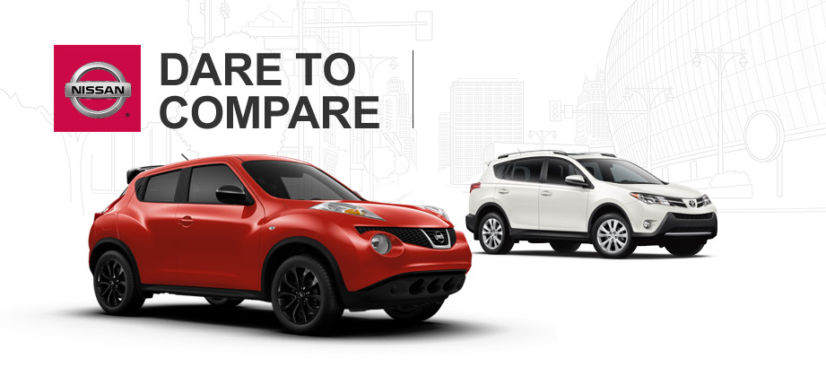 ... does buying a 2014 Nissan Juke compare to leasing a 2014 Toyota Rav4