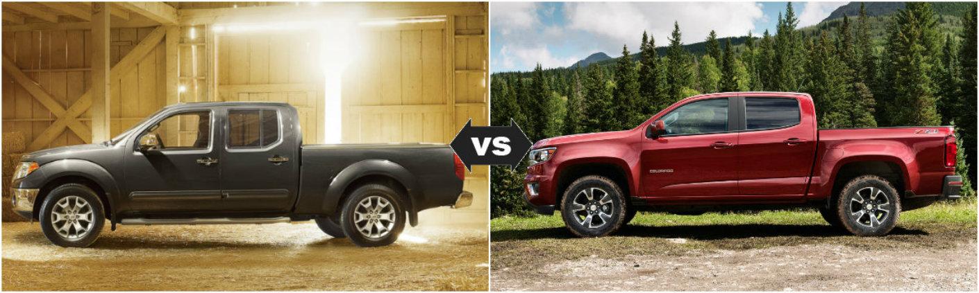 vs 2015 Chevy Colorado2015 Nissan Frontier vs 2015 Chevy Colorado
