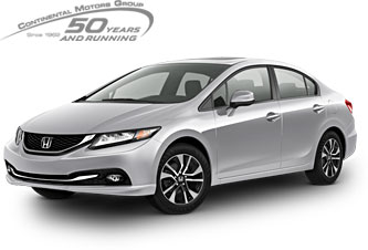 New and Used Honda at Continental Honda in Countryside, IL