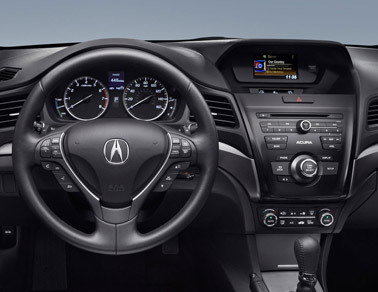 Acura IXL Black Interior