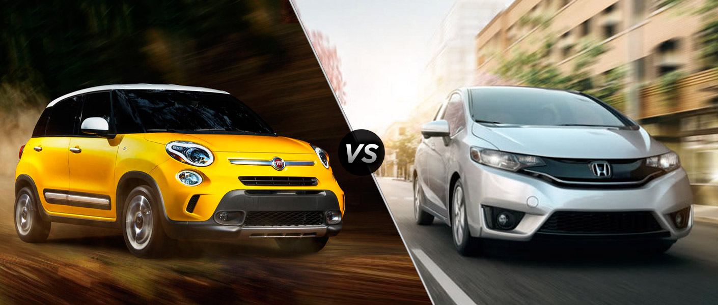 Honda Fit Vs Fiat 500L - All About Honda Foto Competitions