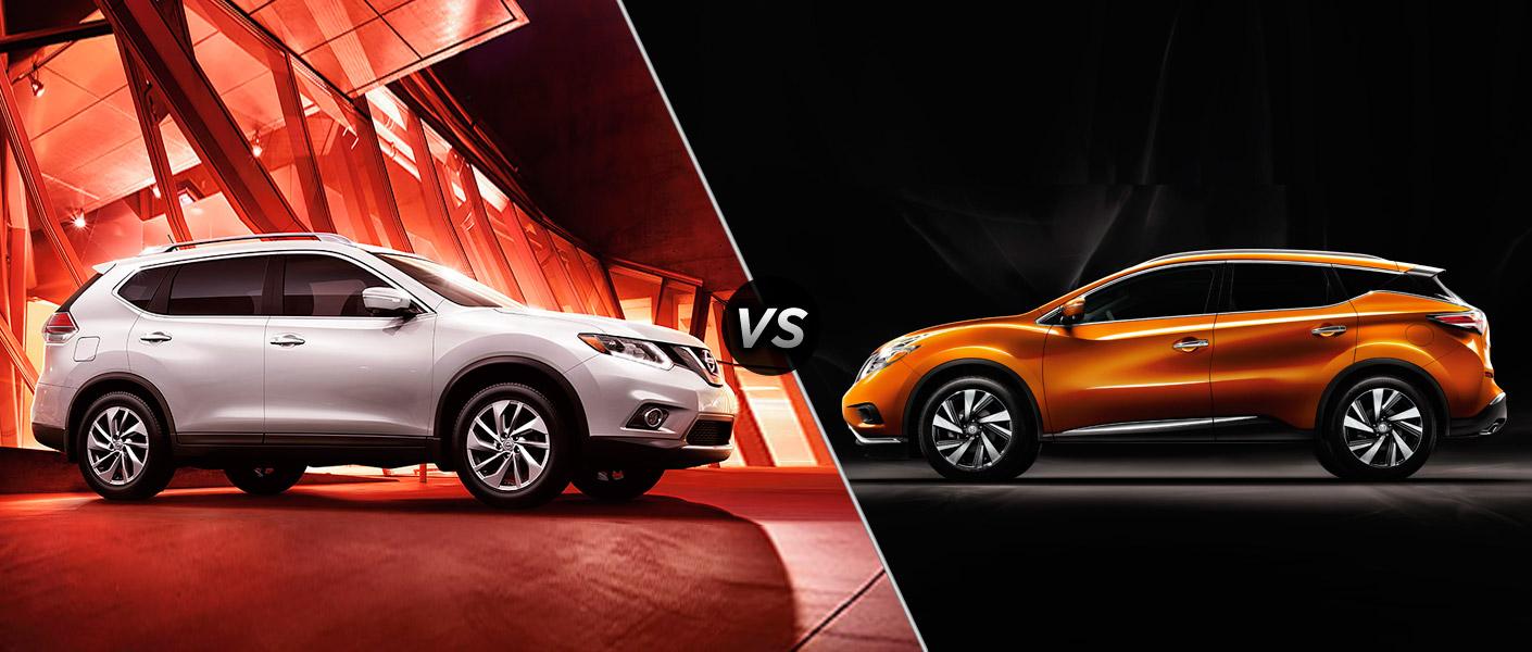 2015 Nissan Rogue vs 2015 Nissan Murano Houston TX