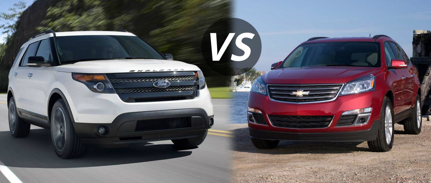 Compare Chevy Traverse And Ford Explorer 2017 Ototrends Net