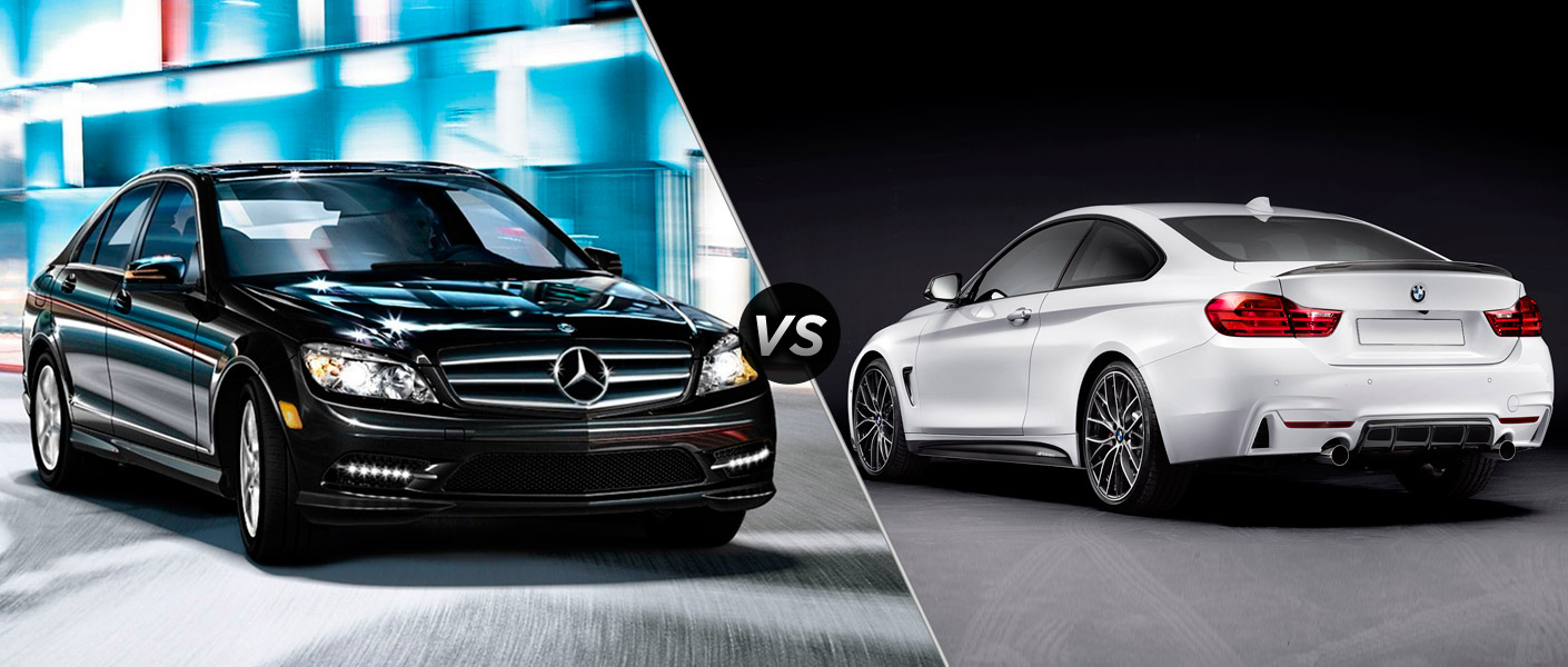 2014 mercedes benz c class vs 2014 bmw 4 series. Black Bedroom Furniture Sets. Home Design Ideas