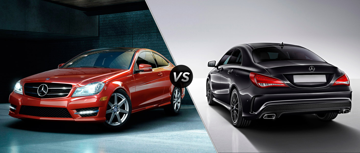 2014 mercedes benz c class vs 2014 mercedes benz cla