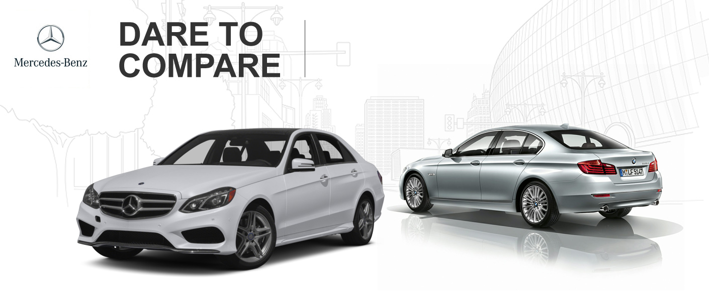 2014 Mercedes-Benz E-Class vs 2014 BMW 5-Series