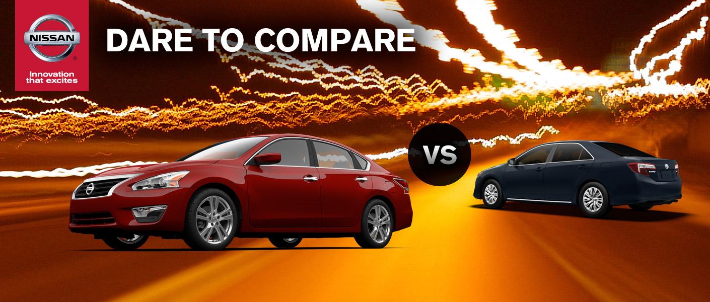 2014 Nissan Altima vs 2014 Toyota Camry