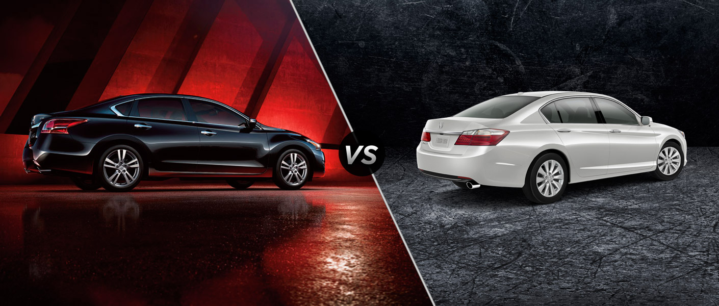 2014 Nissan Altima vs 2014 Honda Accord