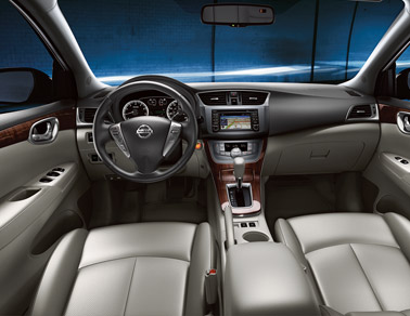 2014 Nissan Sentra Interior