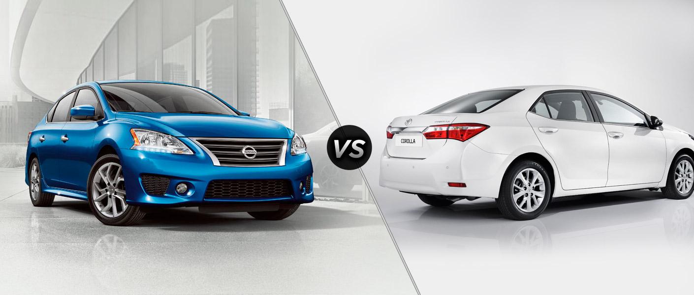 2014 Nissan Sentra vs 2014 Toyota Corolla