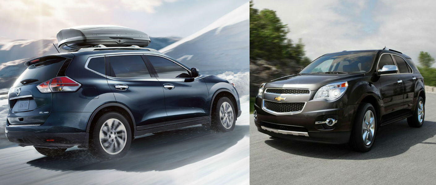 chevrolet equinox vs nissan rogue carsort autos weblog. Black Bedroom Furniture Sets. Home Design Ideas