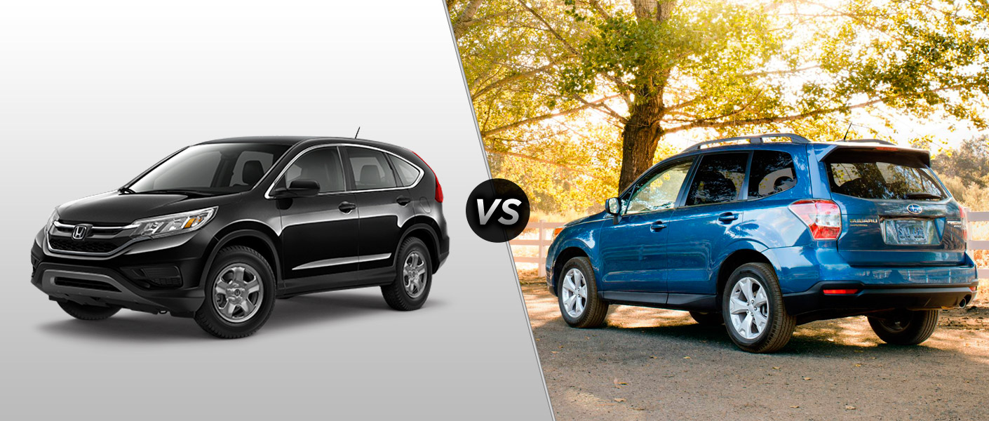 2015 crv winter tire autos post for Honda crv vs subaru forester