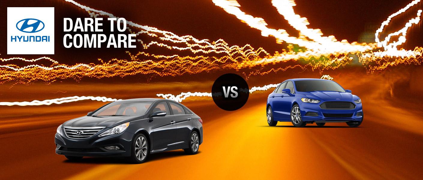 2014 Hyundai Sonata vs 2014 Ford Fusion