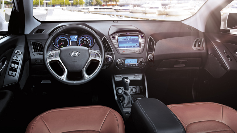 2015 Hyundai Tucson Interior Car Interior Design