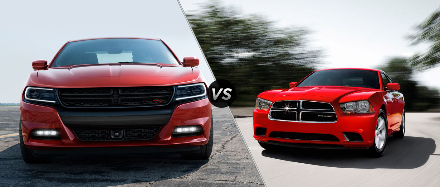 between the 2015 dodge charger vs 2014 dodge difference between dodge