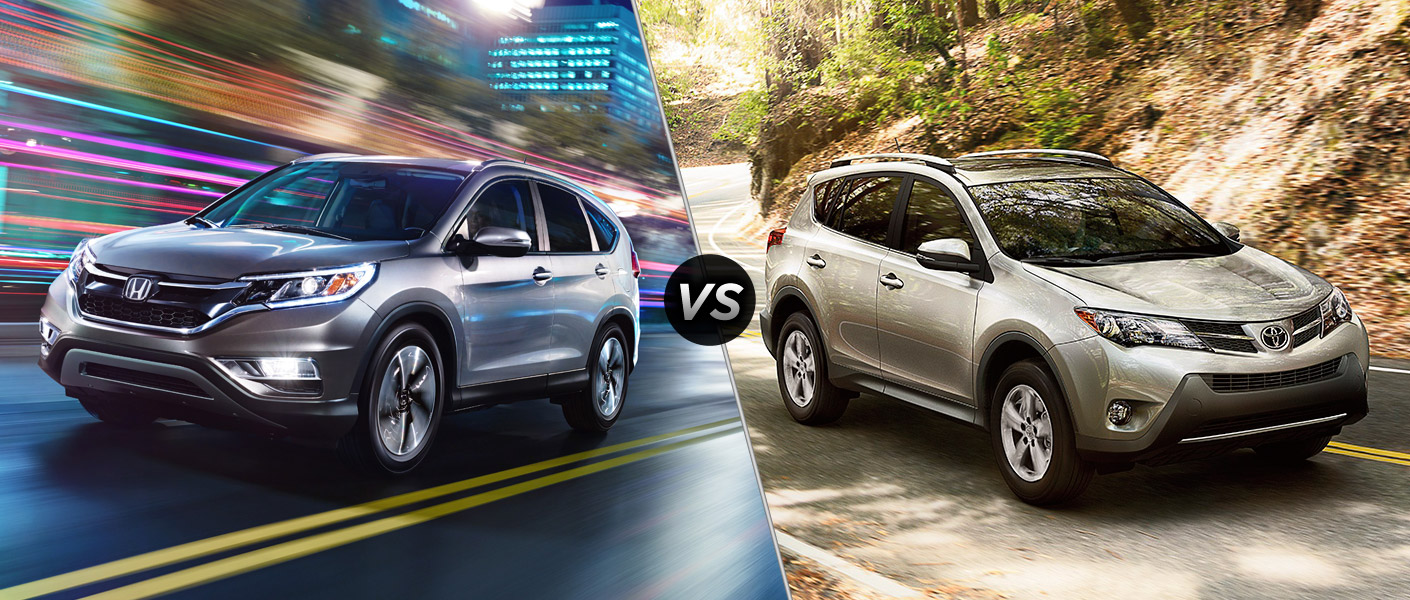 Honda cr v vs toyota rav4 2015 car interior design for Honda crv vs toyota highlander
