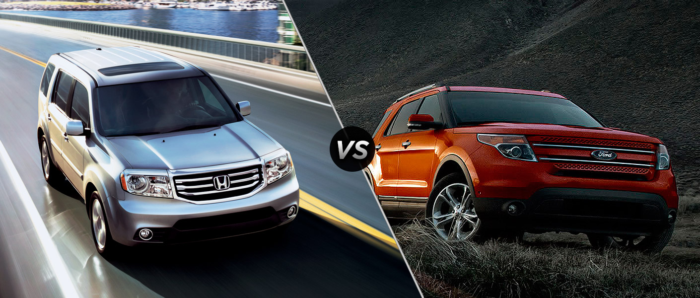 Ford escape hybrid vs honda pilot for Ford edge vs honda crv