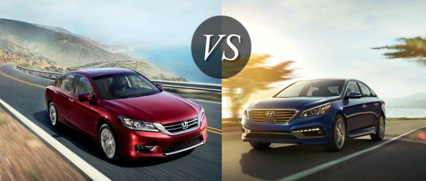 Hyundai sonata vs honda accord for Honda or hyundai