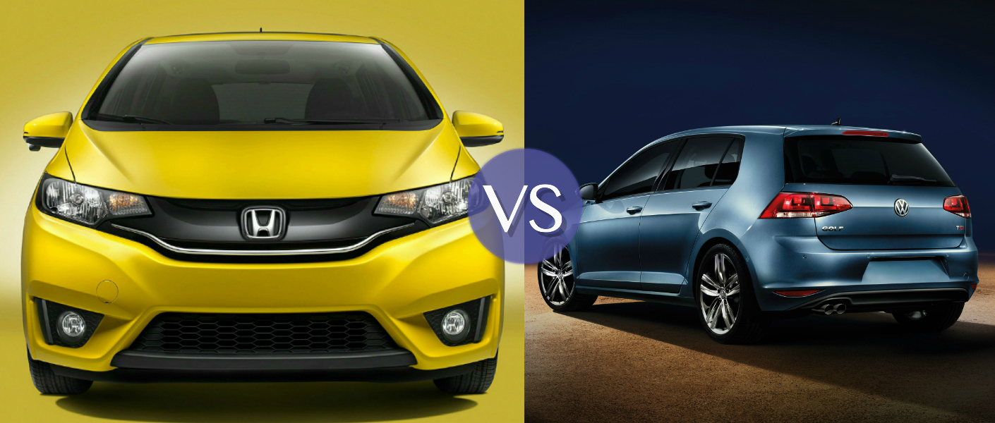 Volkswagen Golf Vs Honda Fit 2017 Ototrends Net