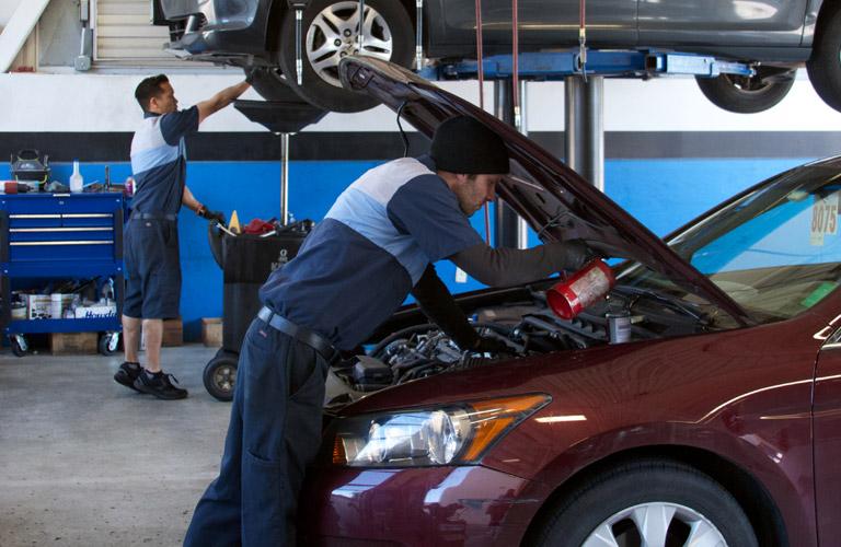 Car service austin tx for Honda dealership oil change price