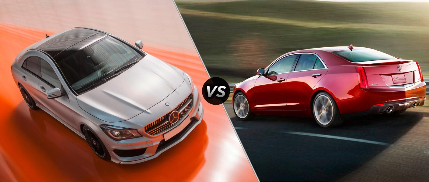 Home 2014 Mercedes-Benz CLA vs Cadillac ATS