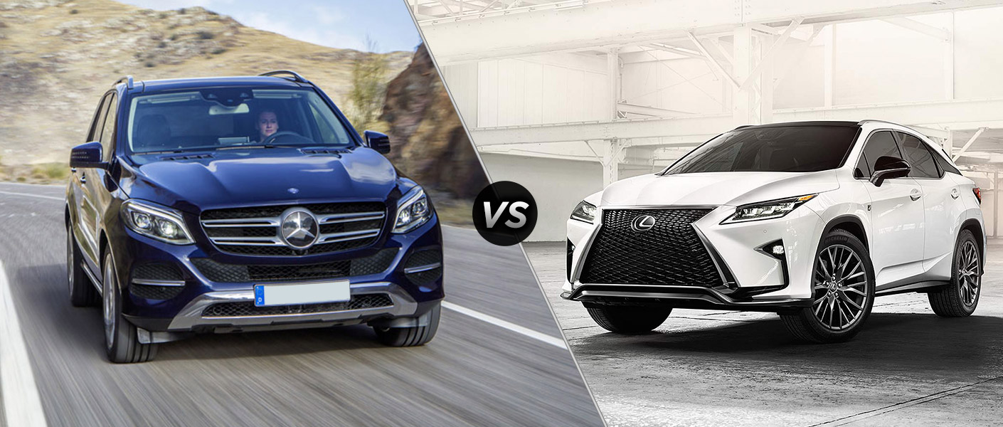 2016 mercedes benz gle suv vs 2016 lexus rx 350 for Mercedes benz gle 350 lease