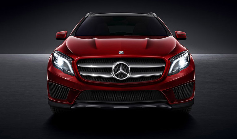 Mercedes benz concept gla photos and info news car and for Aristocrat motors mercedes benz