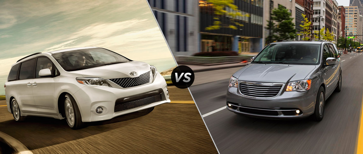town and country 2015 toyota sienna vs 2015 chrysler town and country. Black Bedroom Furniture Sets. Home Design Ideas