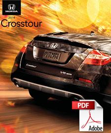 2014 Honda Crosstour Brochure