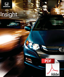 2014 Honda Insight Brochure
