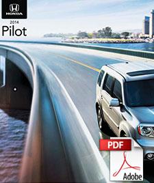 2014 Honda Pilot brochure