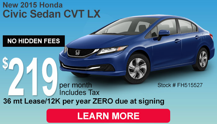 Honda Lease & Finance Specials in MS | Patty Peck Honda