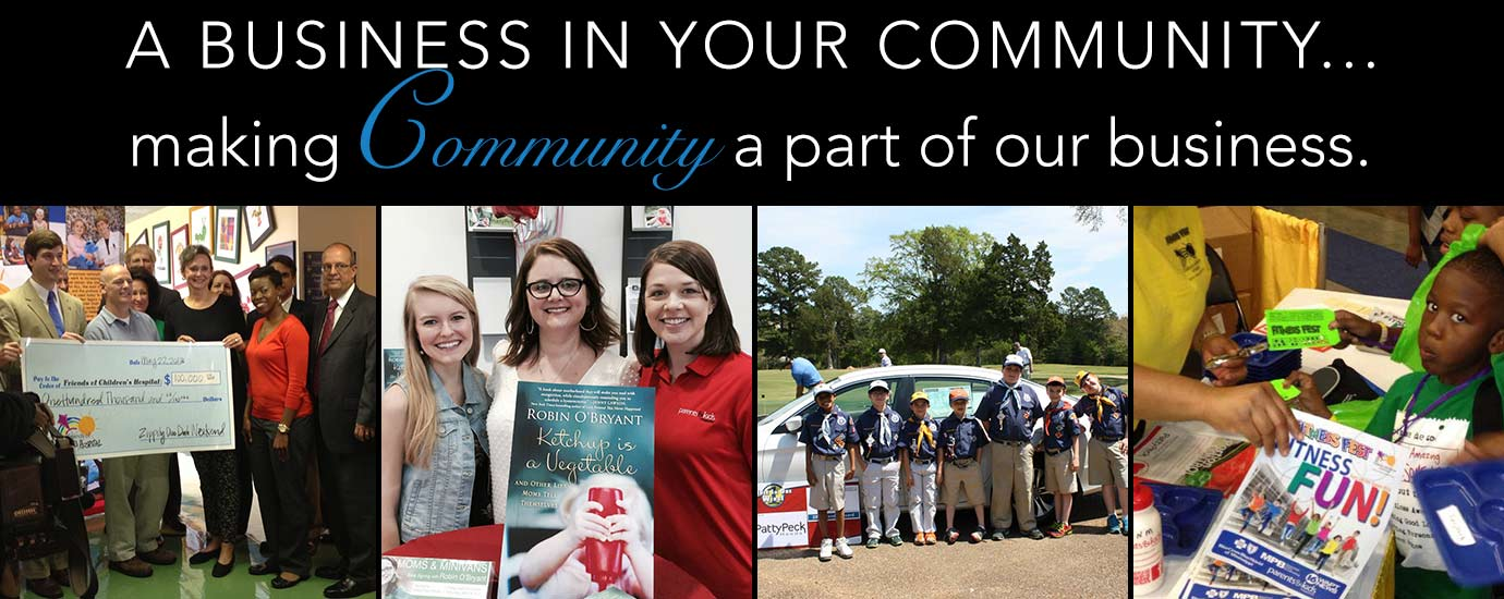 Patty Peck Honda in the community