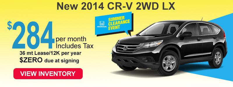 2014 Honda CR-V Sale Jackson