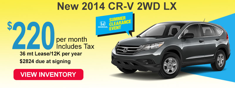 2014 Honda CR-V Lease Jackson