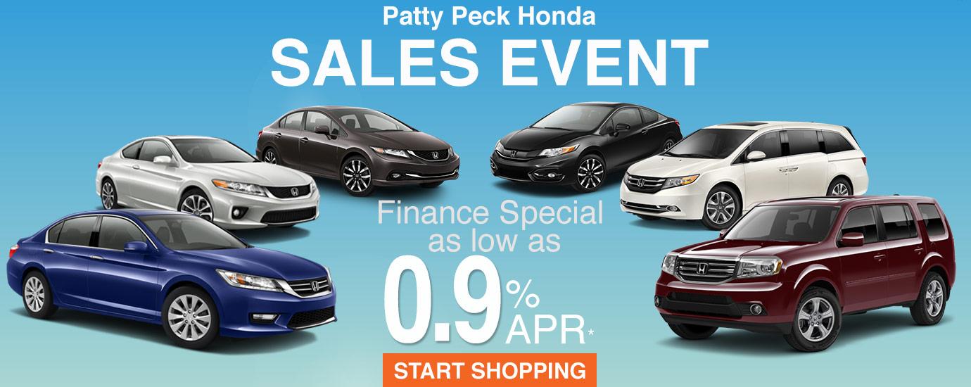 Honda lease finance specials in ms patty peck honda for Honda finance deals