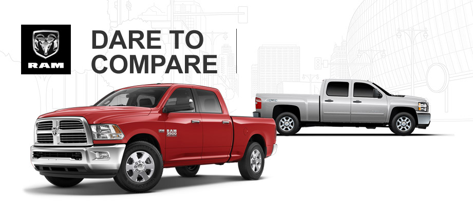 2014 Ram 3500 Heavy Duty vs 2014 Chevy 3500 Heavy Duty