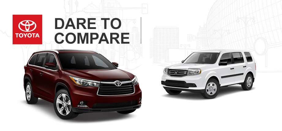 2015 toyota highlander oil change autos post for Honda crv vs toyota highlander