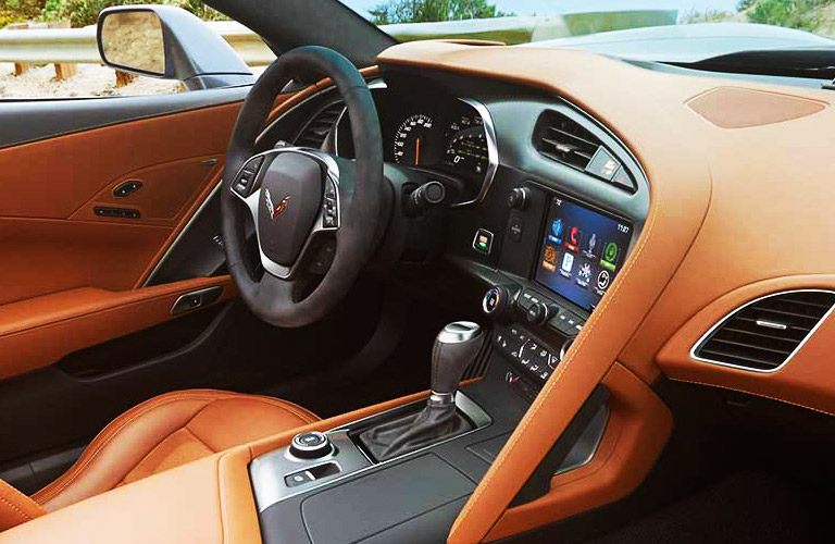 2014 Chevy Corvette interior