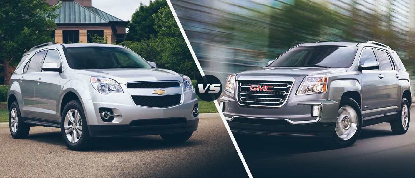 The 2016 Chevy Equinox Vs 2016 Gmc Terrain