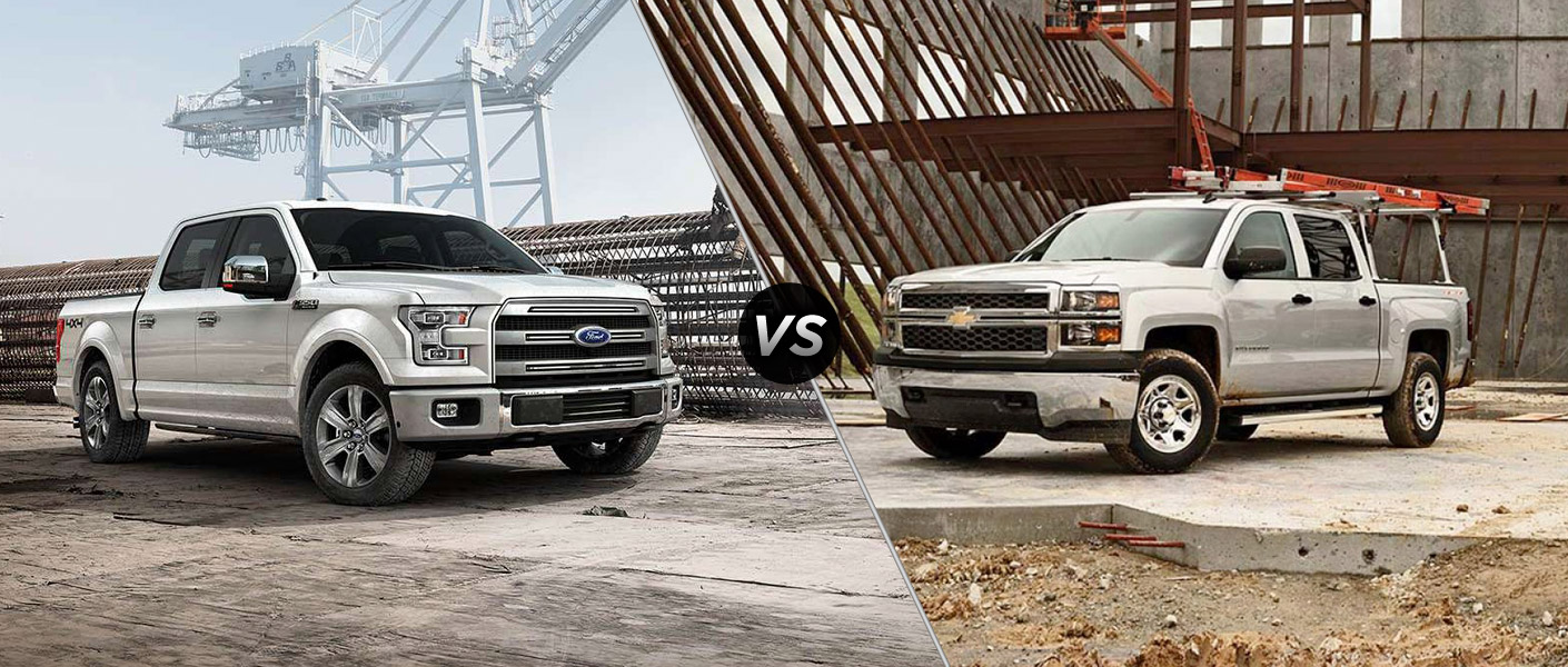 chevrolet silverado vs ford f 150 2017. Black Bedroom Furniture Sets. Home Design Ideas