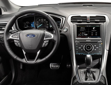 2014 Ford Fusion Interior