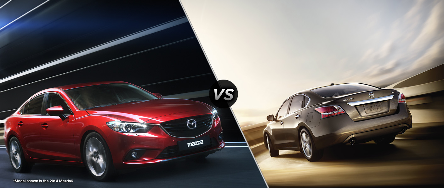 2016 mazda6 vs 2015 nissan altima. Black Bedroom Furniture Sets. Home Design Ideas