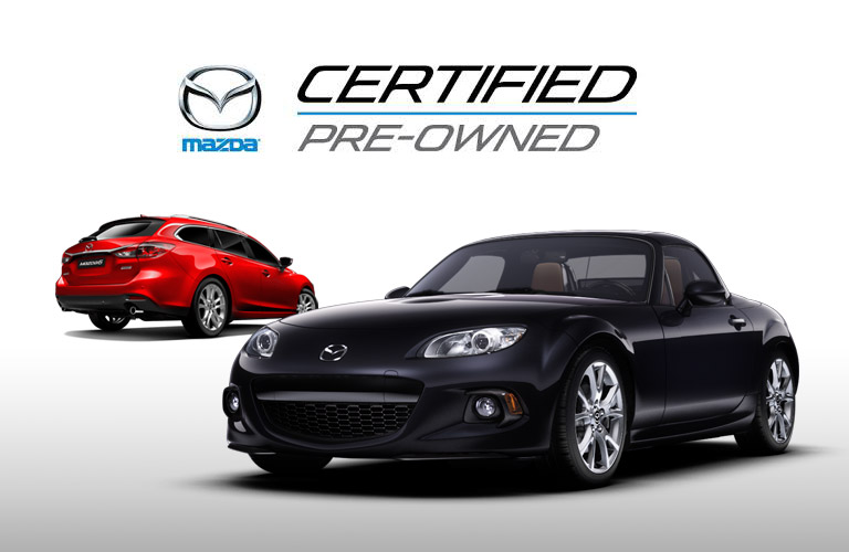 Purchase your next car at Holiday Mazda