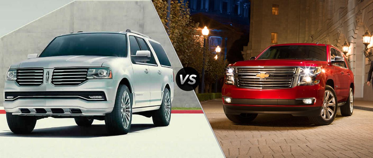 2015 Lincoln Navigator Vs 2015 Chevy Tahoe