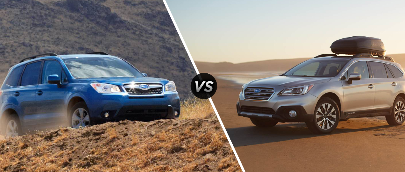 Home 2015 Subaru Forester vs 2015 Subaru Outback