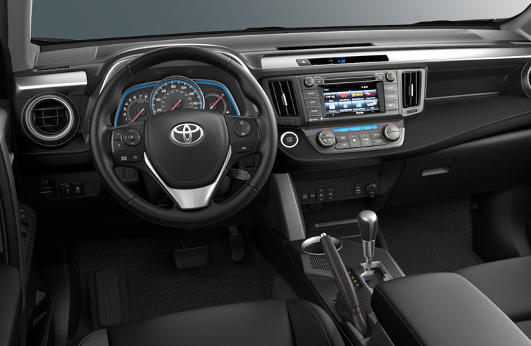 interior 2015 Toyota RAV4 vs. 2016 Honda HR-V