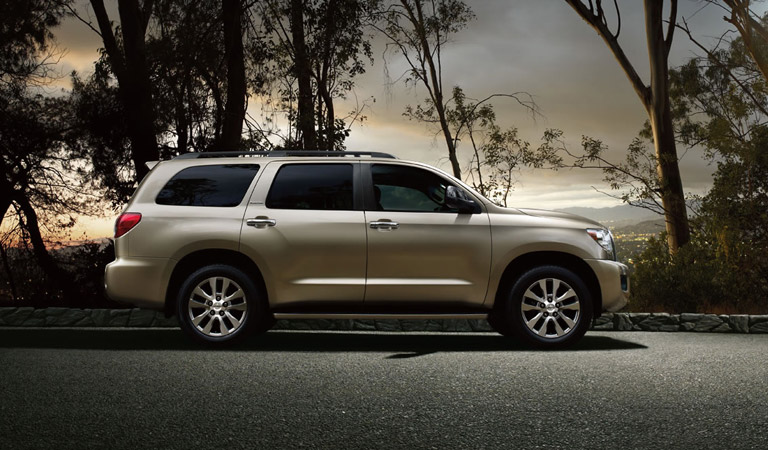Toyota models vs the competition for Toyota sequoia vs honda pilot