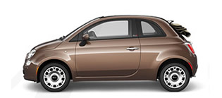 Get the Fiat 500 Cabrio at Chicago IL